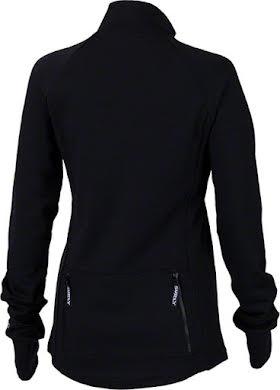 Surly Merino Wool Women's Long Sleeve Jersey: Black alternate image 0