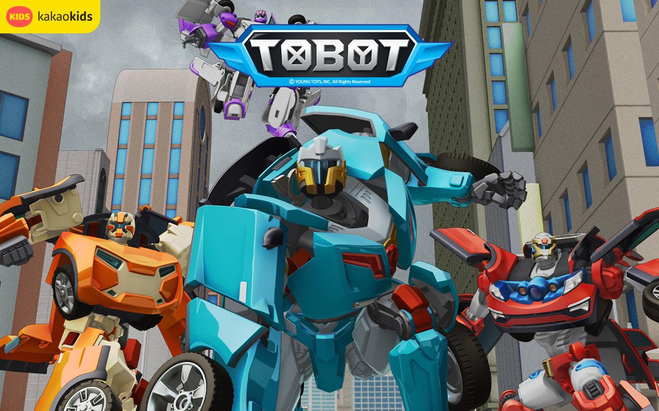 Tobot Android Apps Google Play Screenshot Animasi Kartun