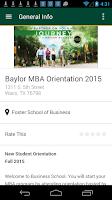 Screenshot of Baylor University