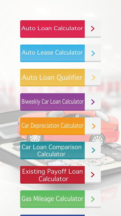 Auto Loan Calculator Plus - Android Apps On Google Play