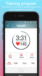 Formyfit Personalised Running Workout Plan & Coach- screenshot thumbnail