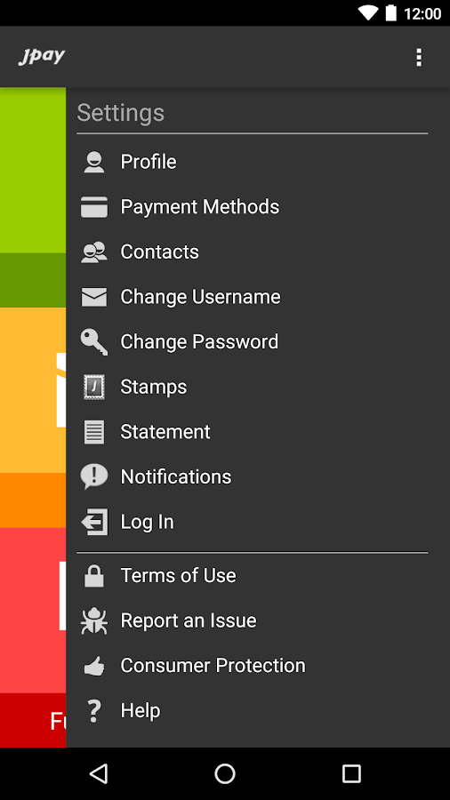 JPay- screenshot