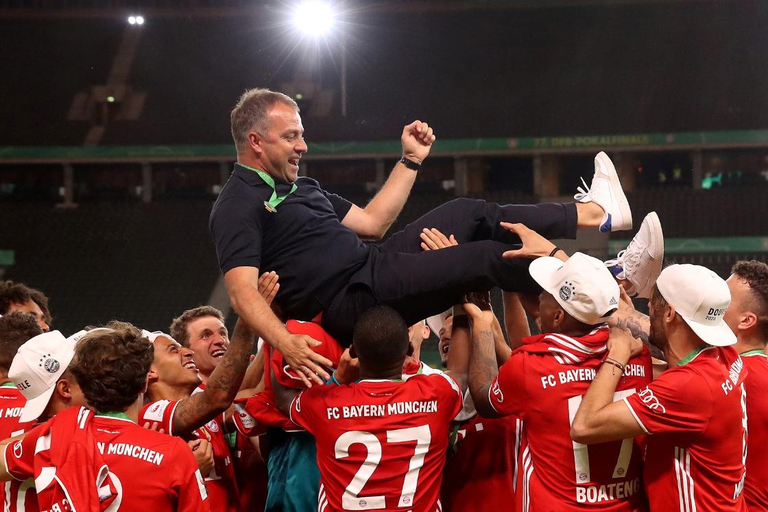 Hansi Flick vows to keep Alaba and Alcantara at Bayern