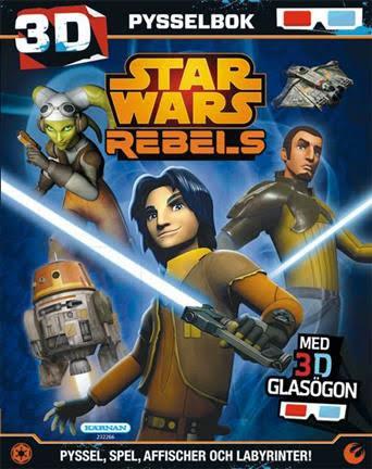 Pysselbok Star Wars Rebels 3D
