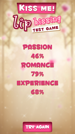Kiss Me! Lip Kissing Test Game - screenshot