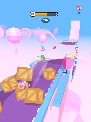 Road Glider - Incredible Flying Game screenshots 11