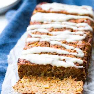 Pineapple Carrot Cake Bread {Paleo & Nut Free}.