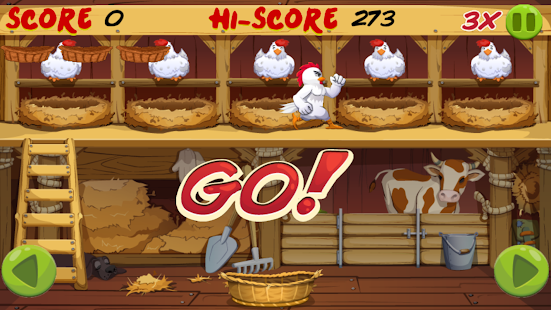 Angry Chicken: Egg Madness!- screenshot thumbnail