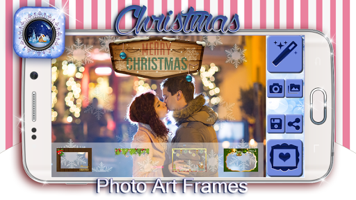 Christmas Photo Art Frames