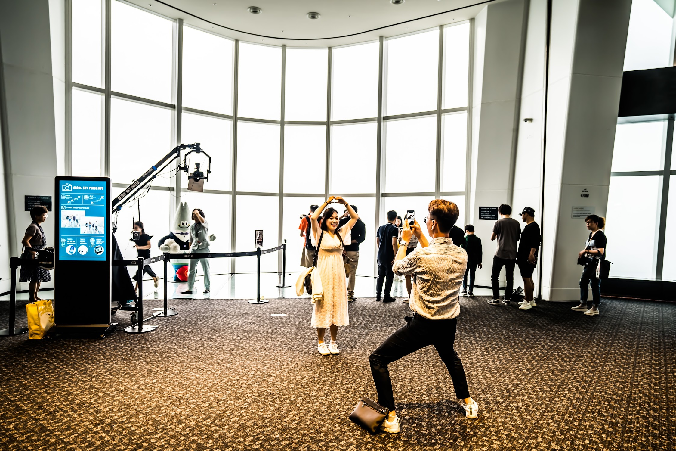 Lotte World Tower Observation Deck3