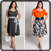 Plus Size Dresses Model
