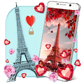Love in Paris Live Wallpaper