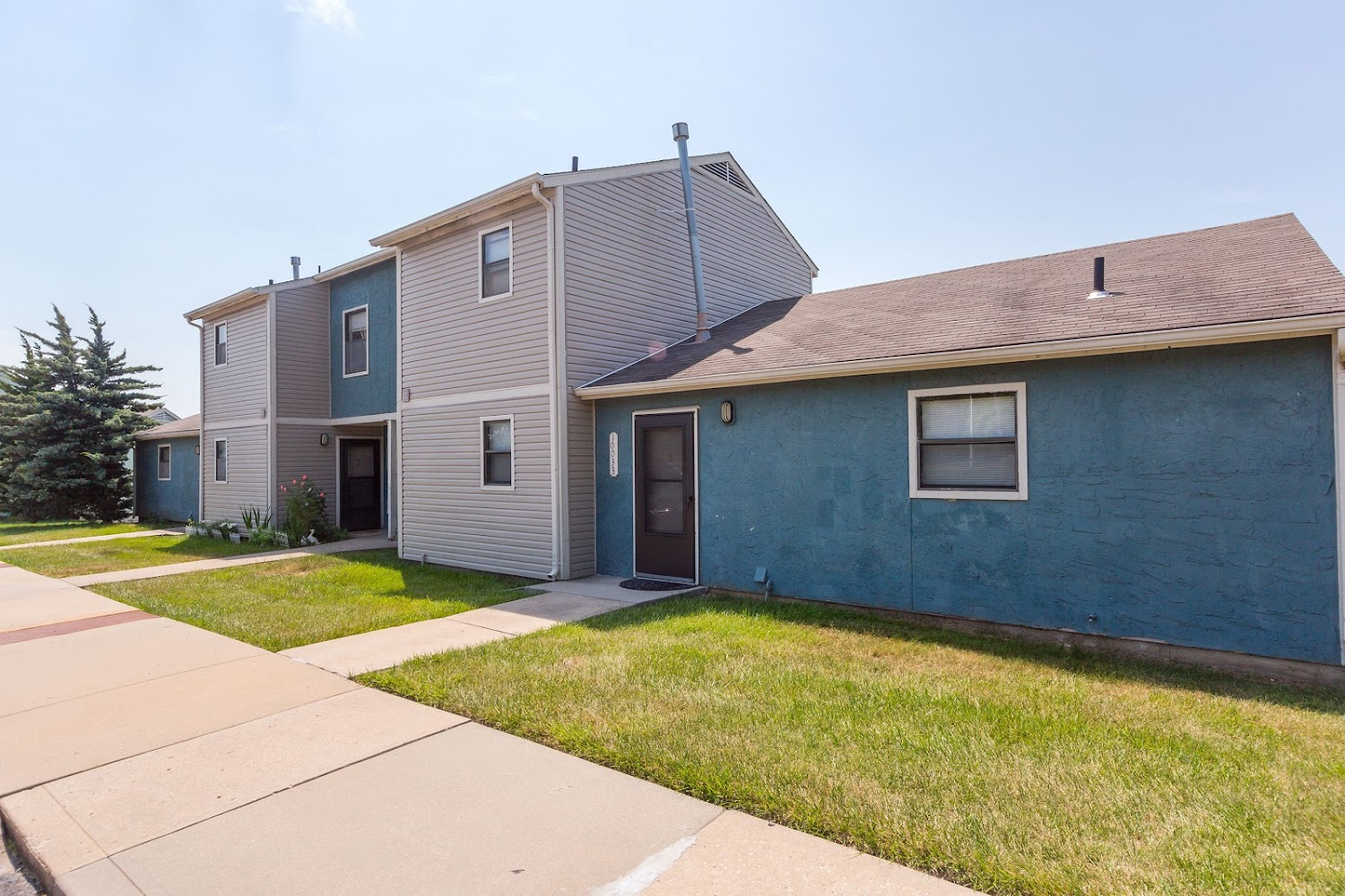 Three Bedroom Floorplan 3 Bed 1 5 Bath Overbrook Hills Apartments In Merriam Kansas The