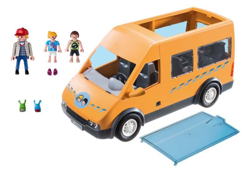 Contenido real de Playmobil® 6866 Autobús Escolar
