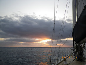 Photo: Sunrise en route to Lady Musgrave