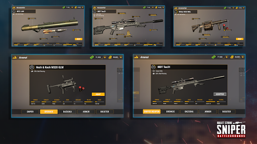 Bullet Strike: Sniper Games - Free Shooting PvP 0.8.2.1 screenshots 18
