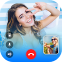 Live Talk -free video chat Made in India Video App icon