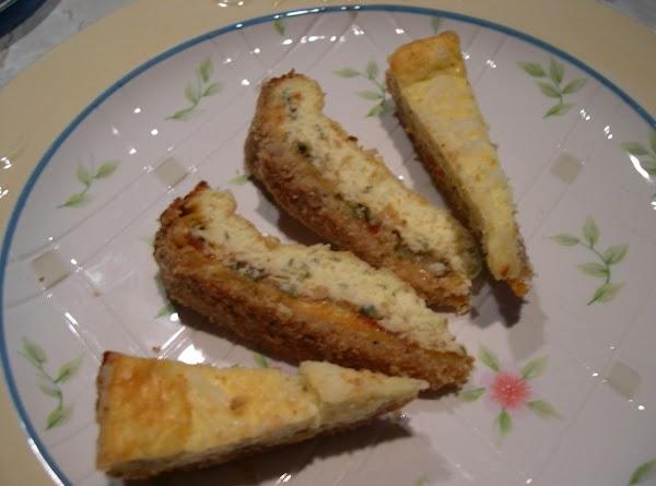 Cheddar Vegetable Torte Recipe