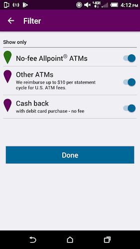 Ally's ATM & Cash Locator