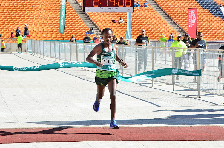 Ethiopian runner Sintayehu Legese won the men's race.