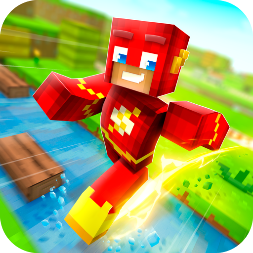 Download ✩ Crossy Creepers: Marvel Island Block Survival ✩