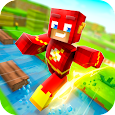✩ Crossy Creepers: Marvel Island Block Survival ✩ apk