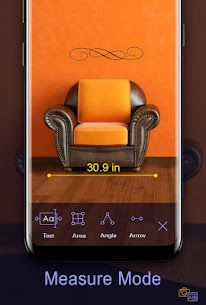 Prime Ruler – length measurement by camera, screen 6