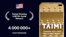 screenshot of Taimi - LGBTQI+ Dating, Chat and Social Network