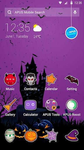 玩免費個人化APP|下載Halloween|APUS Launcher theme app不用錢|硬是要APP