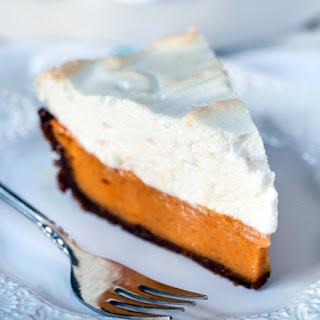 Sweet Potato Pie with Bourbon Meringue.