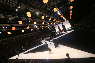 Photo: Location: Vilnius , Lithuania @ Siemens Arena - Models at the JUOZAS STATKEVICIUS Couture Spring/Summer 2013 show are featured wearing stunning de GRISOGONO jewellery.   SHARE your favorite de GRISOGONO pieces and see more from de GRISOGONO at: http://youtu.be/iDnl4A0zSnM