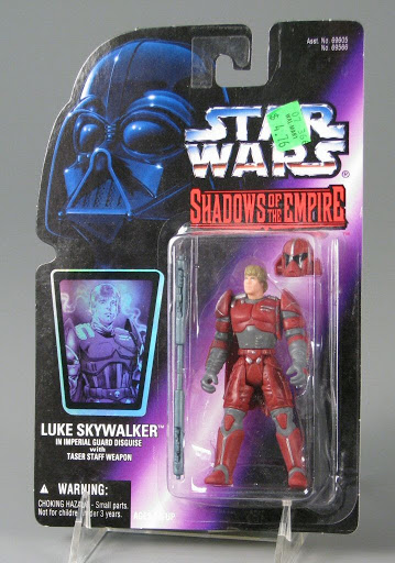 Action figure:Luke Skywalker | Star Wars | The Power of the Force
