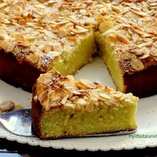 Almond, Ricotta and Lemon Cake gluten free.