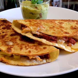 Gorgeous Quesadillas with Chicken and Bacon Recipe