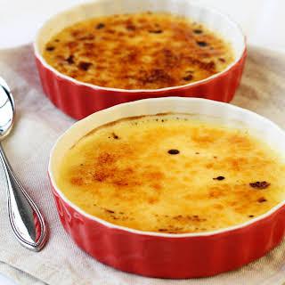 Crème Brûlée – Perfect Portion For Two!.