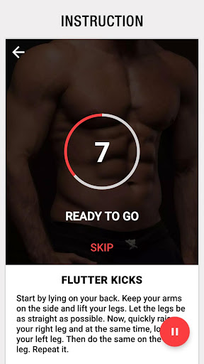 Six Pack in 30 Days for Men – Abs Workout at Home app (apk) free