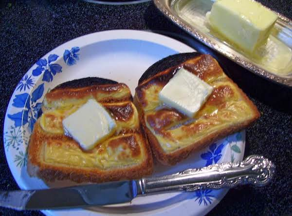Cheese Toast  By Freda