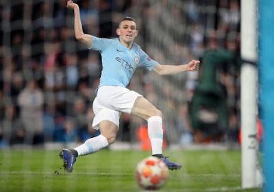 Phil Foden de Manchester City s'incruste dans le Top 3 des plus jeunes buteurs de la Ligue des Champions 2018-2019