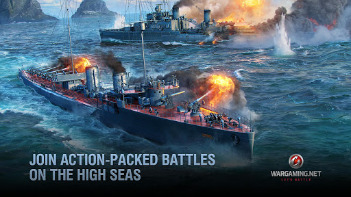 World of Warships Blitz: Gunship Action War Game 1.10.1 Cheat screenshots 1