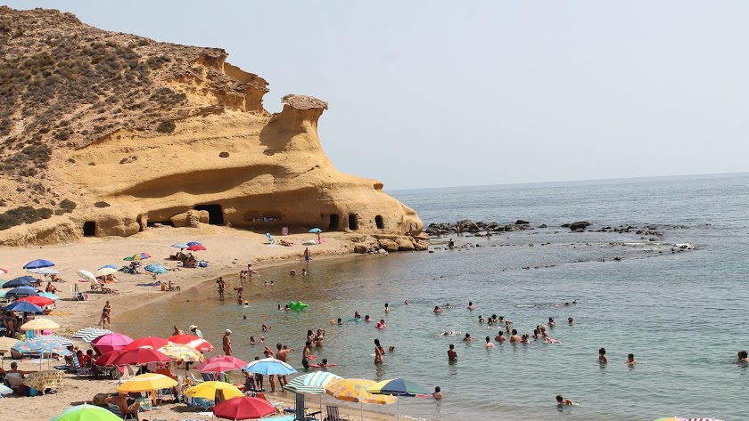 Vistas de la Playa de Los Cocedores.
