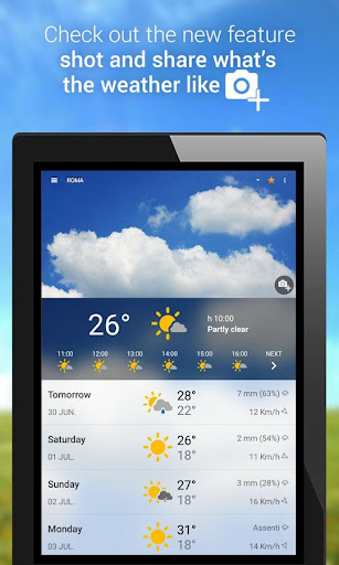 3B Meteo - Weather Forecasts  screenshots 9