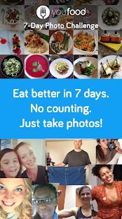 7 Day Food Journal Challenge- screenshot thumbnail
