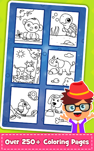 Coloring Games : PreSchool Coloring Book for kids 1.1 screenshots 2
