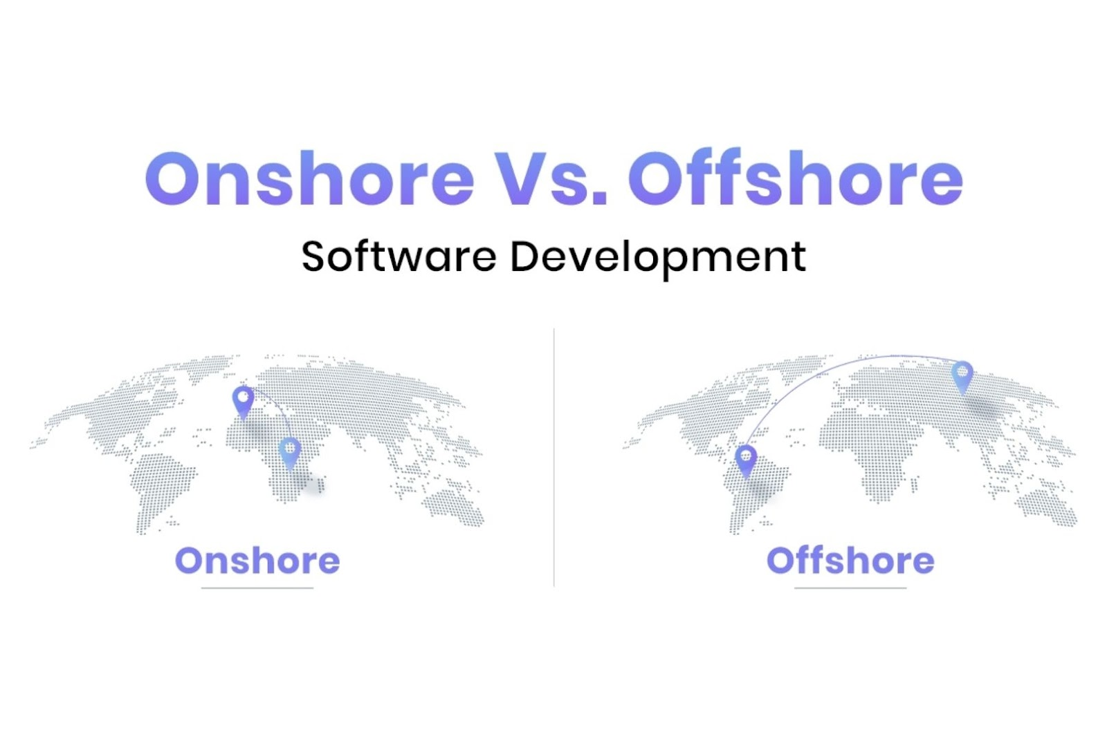 Onshore vs offshore software outsourcing companies