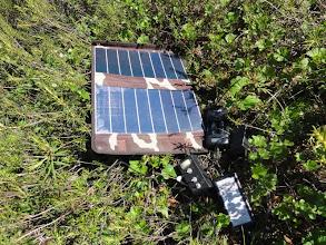 Photo: Солнечная батарея, зарядка аккумуляторов.