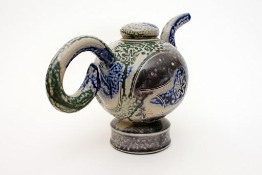 Peter Meanley Ceramic Tea Pot 13