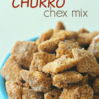 Cinnamon Churro Chex Mix.