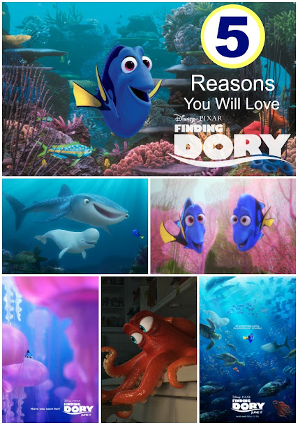 My Finding Dory Review: 5 Reasons You Will Love Disney Pixar's Finding Dory
