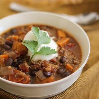 Black Bean Quinoa Chili Recipes