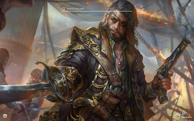 Pirates HD Wallpapers New Tab Theme